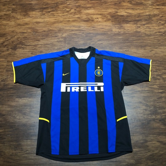 best service 6177f d787f Inter Milan Nike Home Soccer Jersey